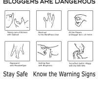 bloggers are dangerous