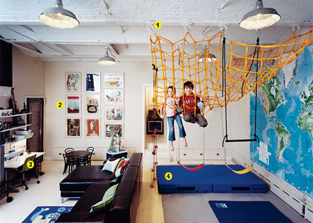 Swissmiss as seen on new york magazine - Boys basement bedroom ...