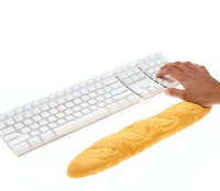 Baguette Keyboard Wrist Cushion