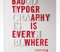 .... typography is everywhere.