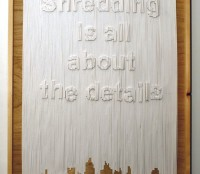shredding is all about...