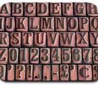 Letterpad Mousepad