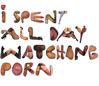 porn font. made me laugh.