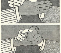 soul-brother handshake