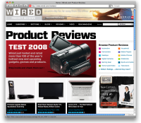 Wired's Product Reviews of 2008