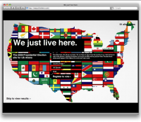 The 2008 Presidential Election site for US Aliens
