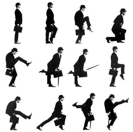 Silly walks and creative ruts