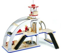 Wooden Airport Play Set