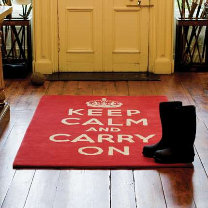 how to keep a rug down on carpet