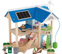 Eco Dollhouse | Eco-Centric Play Gift Idea
