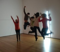 Art jumping at MoMA