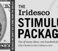 The Iridesco Stimulus Package: Out of Many Ideas, One Hundred Dollars.