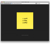StickyScreen - a digital post-it in your web browser