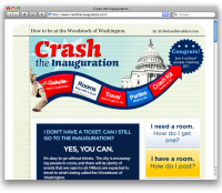 CrashTheInauguration.com