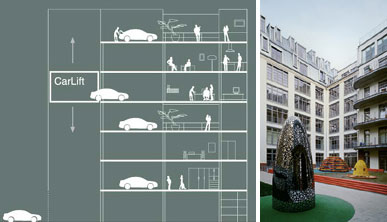 Carloft_designs_l_car_parking_on_balcony