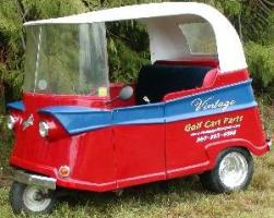 Cushman 3-wheel Golf Cart | Proxibid Auctions