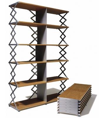 fold up bookshelf 2