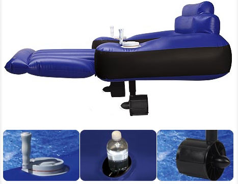 swissmiss motorized pool lounger