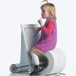 Childrenspaperchair01